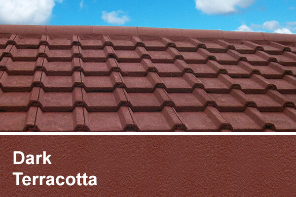 Dark Terracotta roof coating scotland