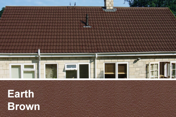 Earth brown roof coating scotland