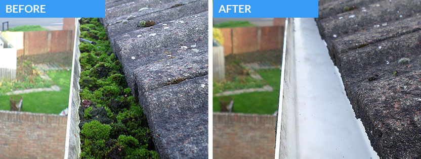 Gutter cleaning in dunfermline