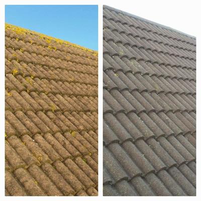 roof cleaning in edinburugh